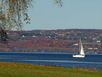 Cayuga Lake Autumn Ease