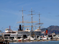 Restored Tall Ship in SF Bay